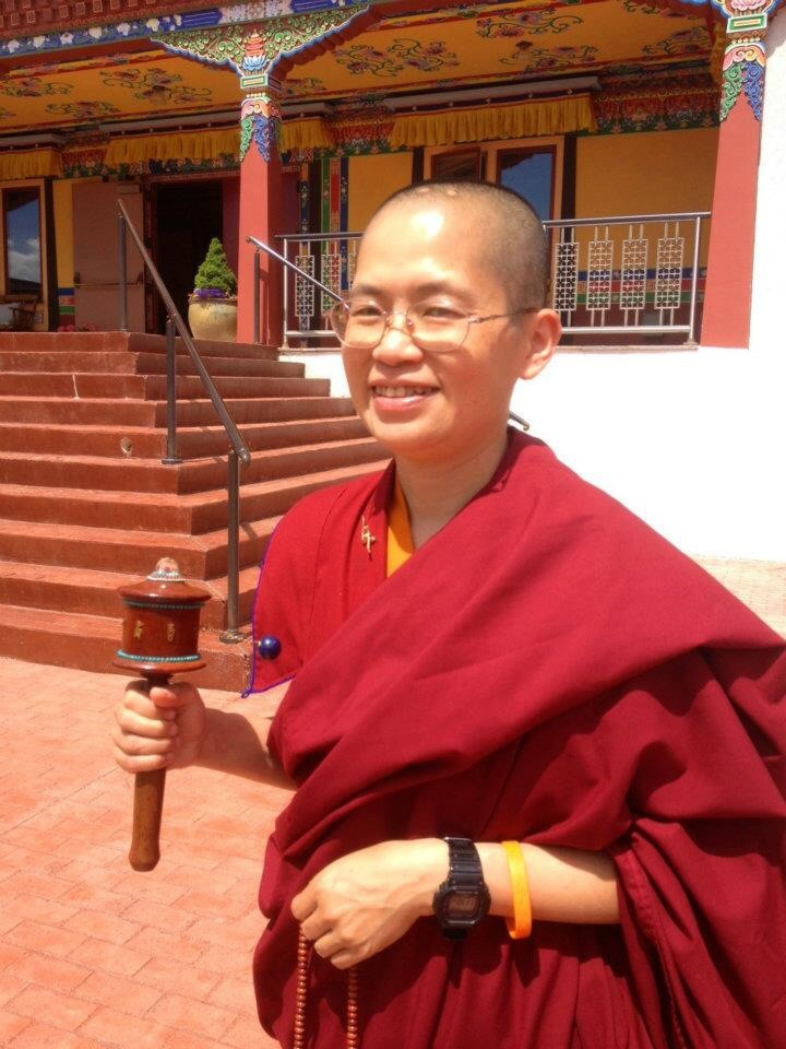 Lama Lodro April Florida KTC Visit